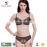 latest fashion very sexy push up women beautiful bra sexy bra design bra & brief set