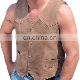 Leather vests (VS-006)