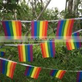 Colorful Rainbow Peace Flags Banner LGBT Pride LGBT Flag Lesbian Gay Parade Flags Home Decoration Rainbow Flag