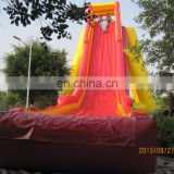 Cheap commercial best quality giant inflatable slide for adults WS069