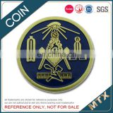 Custom copper military coin