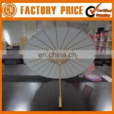 Customized Logo OEM Designed Branded Paper Umbrella