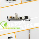 MINI Touch dimmers DC12V/24V TD1630WT for flex LED Strips/alu profiles