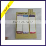 China wholesale different shaped adhesive paper sticky note by school supply