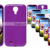 China jelly case for samsung galaxy S4