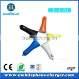 OEM factory direct mobile phone charger colorful dual usb car charger