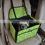 Pet booster seat use in the car carrrier bag pet car booster seat