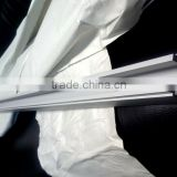 High grade quality silver anodized aluminum track channel (led aluminum channel, aluminum u channel)