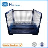 China collapsible mesh steel pallet box container