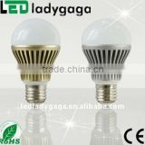 110V220V Warm White/Cool white 5w E27 led bulb Long service life, three to four times as long as normal halogen lamps