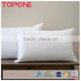 Home bedding sleeping cheap white plain duck down pillow