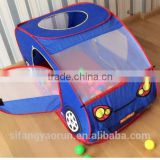 Hot sale car shape outdoor polyester kids play tent