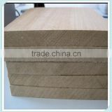 Trade Assurance Furniture Grade veneer melamine mdf board 1.5mm From Factory(LINYI)