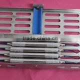 Implant Scaler & Curettes Set Lightweight Hollow Handle TITANIUM A+ Quality/Dental Implants Top Quality