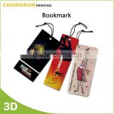 Custom size Fancy lenticular bookmark, 3d bookmark