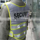 Mesh 3M Reflective Road Security Clothing With PVC Tape
