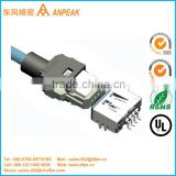 Excellent quality lvds cable with connector
