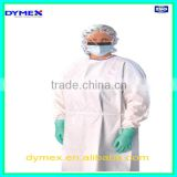 Non Woven Fabric Colorful Protective Disposable Isolation Gown