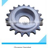 ASA standard roller chain idler finished bore sprocket