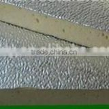 stucco embossed aluminum foil sheet for PU Foam Insulation panel
