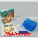 Snore Stopper Stop Snoring Solution As Seen On TV Anti Snore Mouthpiece Tray Stopper Sleep Apnea Mouthguard