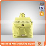 4769 - 2016 wholesale spring summer colour manufacture drawsting twist lock fashion ladies backpack