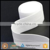 All color promotional durable harmless soft crochet bra wholesale elastic webbing in white