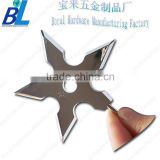 Western type metal star shaped clothes wall hook