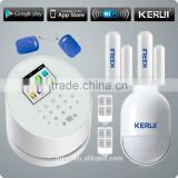Newly KERUI WIFI GSM PSTN TFT 2.4G WIFI color display wireless intelligent security alarm system Image