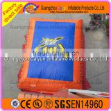 Outdoor adventure sports used inflatable big air bag for stunts show