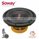 COMETA CT-1025OR Orange car audio subwoofer/subwoofer car audio/pro audio woofer
