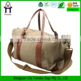 Luggage duffle bag leather vintage military canvas travel bags