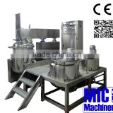 MIC- 500L high pressure homogenizer vacuum homogenizer homogenizer mixer with 500L water oil tank with ce