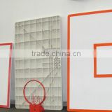 SMC basketball hoop backboard with rim and net