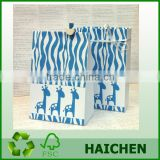 2015 New design Baby Giraffe bulk plain paper bag gift