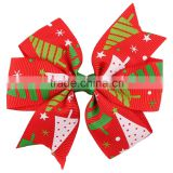Deshine Wholesale Ribbon Christmas Butterfly Hair Banana Clip ZX1040