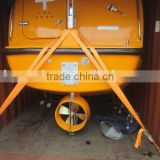Marine Safety Equipment Enclosed Fiberglass Lifeboat/Uesd life boat