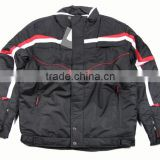 Outdoor sportswear winter plus size woven jacket for men