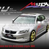 PU body kit for HONDA-08-09-ACCORD