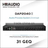 DAP2040II Speaker Management System Sound Processor dsp audio processor