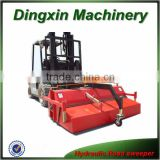 Hydraulic forklift sweeper for sale