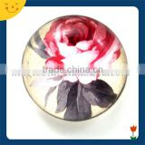 Round shape mini glass fridge magnet, glass dome magnets for fridge