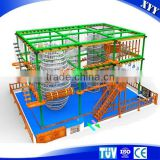 Indoor Adventure Challenging Playground for Kids and Adults