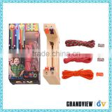 Widely used compact low price survival 550 paracord bracelet kit