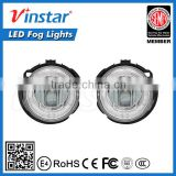 High quality auto parts Daylight guide 10W LED Fog Light with DRL for Forester Impreza WRX