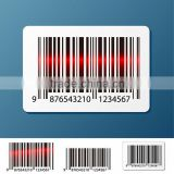 Zebra barcode labels sticker self adhesive label