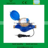 Remote reading pulse output multi jet water meters