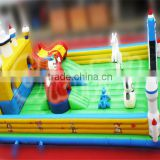 giant inflatable obstacle course for sale, airplane inflatable amusement park, inflatable fun city