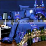 Paris Night 3D Duvet Cover Quilt Cover Set