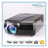 Online Shopping 2800 Lumens Full HD LED 3D Micro Hologram Professional Home Theatre Projector LX768